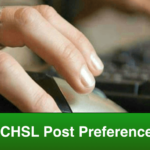 SSC CHSL Post Preference Code For  इस बार वाला कोड