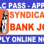 5th Pass Sarkari job / 10th Pass Sarkari Job in Syndicate Bank Recruitment Attenders/Sweepers vacancies