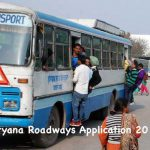 Haryana Roadways Application 2017-2018 Apply Online