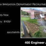 IWRD Recruitment For 400 Junior Engineers Last Date 10.07.2017