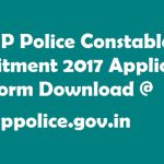 HP Police Recruitment 2017 Constable Vacancies Application Form
