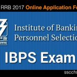IBPS RRB 2017 Online Application Form (CWE VI) Notification- Apply Online