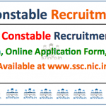 SSC GD Constable 2017 Vacancy Details- 57000 vacancies