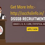 DSSSB Recruitment 2017 – 1,074 Lower Division Clerk Vacancy ,Other Posts