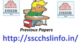 DSSSB QUESTION PAPER