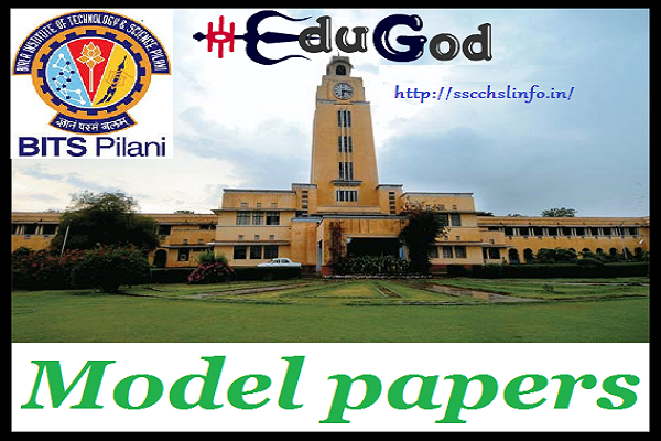 Bitsat Previous Year Question Papers Pdf