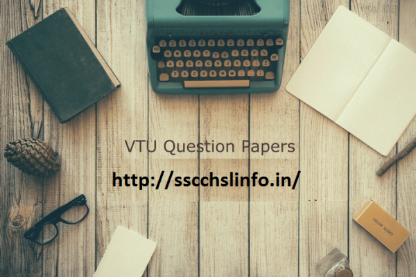 VTU Model question papers