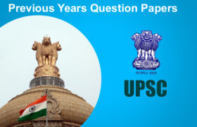 Previous Years Question Papers of UPSC