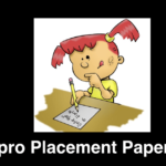 Wipro Placement Paper in PDF With Answer Complete List