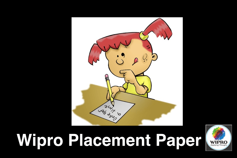 Wipro Placement Paper