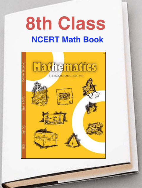 NCERT Books For Class 8 Maths